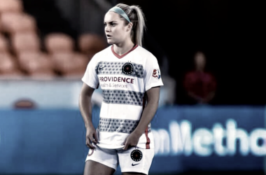 Ellie Carpenter at 18 years and 22 days is now the youngest player to score a goal in NWSL history. (Photo: Anya Button)