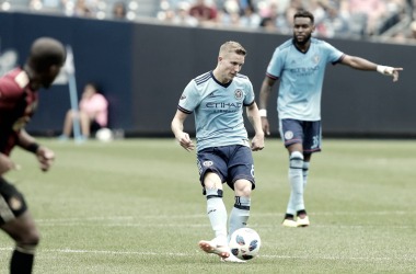 Alex Ring in possession for NYCFC. | Photo: Chris Bergmann-USA TODAY Sports