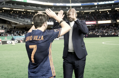 """David Villa: """"Patrick [Vieira] was so important for the club and for us"""""""