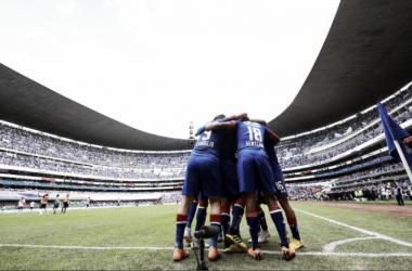 El Azteca lució una gran entrada / Foto: ESPN