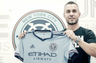 Eloi Amagat in his new colors. | Photo: New York City FC