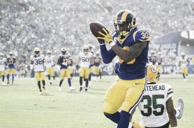 Guerley anotó un Touchdown por tierra / Foto: NFL