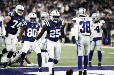 El ataque terrestre de 'Indy' frenó a Dallas / Foto: Indianapolis Colts