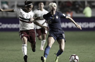 Result: USWNT 3- 0 Mexico in an International Friendly