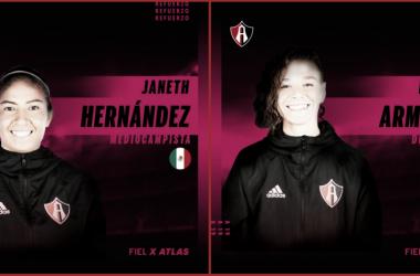 Foto: Atlas FC Femenil