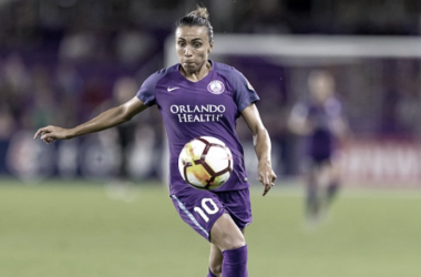 Houston Dash earn hard win 1-0; Orlando Pride Marta, Julie King see red cards