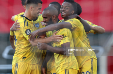 Southampton 0-2 Arsenal: Mikel Arteta's determined Gunners show character in St Mary's triumph