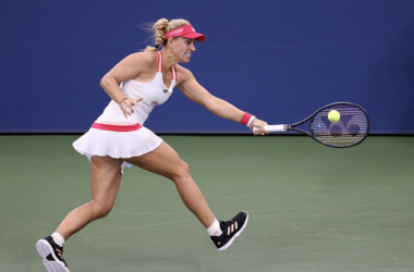 US Open: Angelique Kerber battles to take out Ann Li