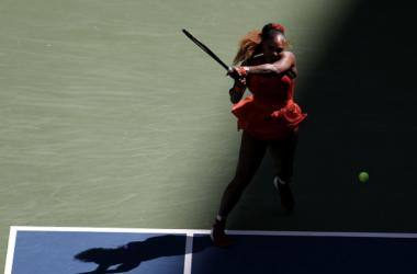 US Open: Serena Williams outlasts Sloane Stephens in three-set affair
