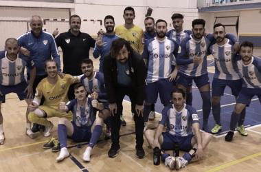 El Málaga Futsal asciende a Tercera y sigue creciendo