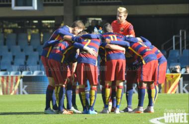 Resultado Valencia Mestalla 0-3 Barcelona B en Segunda B