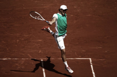French Open: Impressive Dominic Thiem into the third round with victory over Simone Bolelli