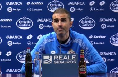 "Garitano: ""Vamos con la ilusión de poder pasar"" | Imagen: RC Deportivo."