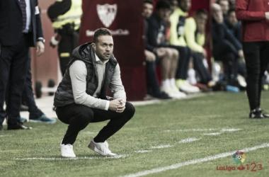 El Sevilla Atlético, con Luis García Tevenet hasta el final
