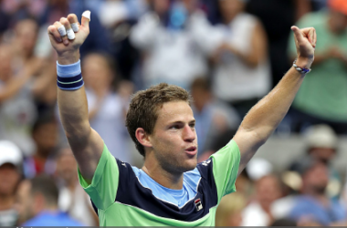 Schwartzman could face Nadal in the last eight (Image source: Zimbio/Al Bello/Getty Images)