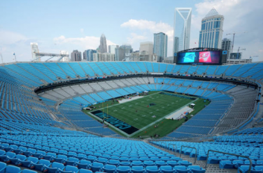 The Bank of America Stadium, home of the Carolina Panthers (Photo: Jacob Kupferman/Getty Images)
