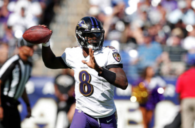 Lamar Jackson guided the Ravens to victory against the Cardinals (Photo: Todd Olszewski)