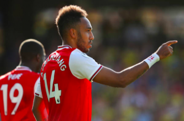 Pierre-Emerick Aubameyang. Picture: Getty Images.