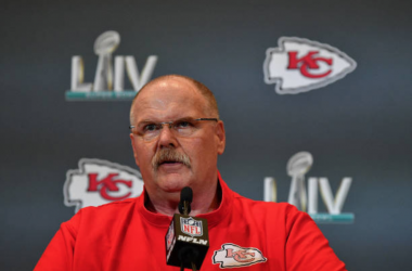 "Kansas City Chiefs Head Coach Andy Reid ""respects the heck"" out of Jimmy Garoppolo"