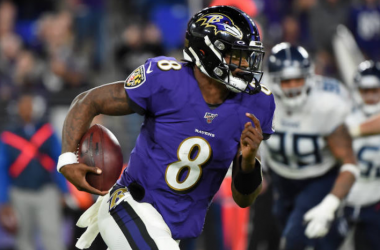 Lamar Jackson unanimously voted NFL's Most Valuable Player at NFL Honours ceremony