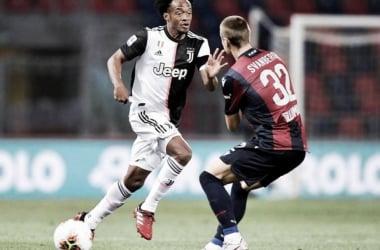 Juan Guillermo Cuadrado, titular en la victoria de la Juventus