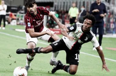 Derrota de Juventus con Cuadrado en cancha