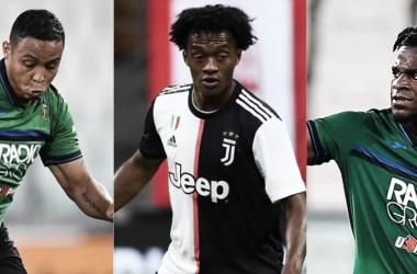 Tres cafeteros presentes en el Juventus vs Atalanta