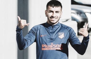 Correa y Vrsaljko, los positivos del Atlético