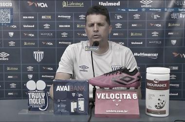 Reprodução: TV Avaí