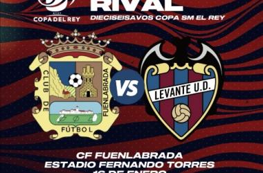 CF Fuenlabrada vs Levante UD / Fuente: levante.com