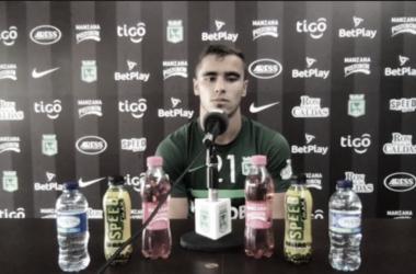 """Tomás Ángel: """"Estoy agradecido totalmente con el profe por las oportunidades"""""""
