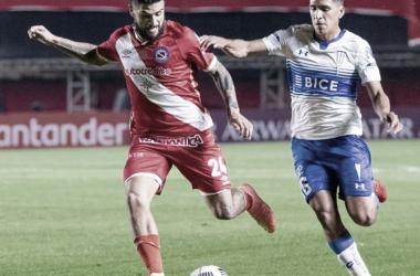 """Primer derrota en Libertadores para el """"Bicho"""""""