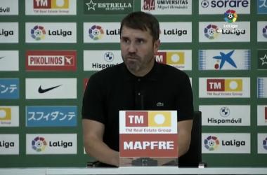 "Eduardo Coudet: ""El partido fue malísimo"""