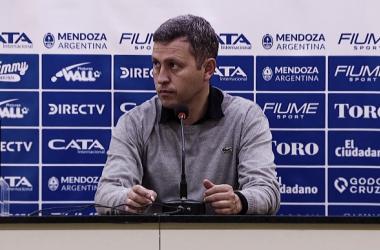 Diego Flores - conferencia 20/10.<div>Fuente: Godoy Cruz.</div>