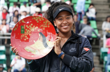 Naomi Osaka won her home tournament for the first time, having lost in the final twice (Image courtesy of Koji Watanabe)