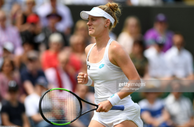 Alison Riske beat a world number one player for the first time on Monday (Getty Images/Matthias Hangst)