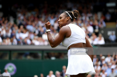 Serena Williams put in a superb performance to end the challenge of Alison Riske (Getty Images/Mike Hewitt)