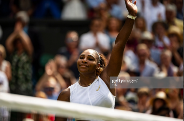 Serena Williams celebrates an impressive semifinal performance (Getty Images/TPN)