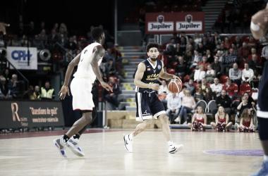 Askia Booker en el duelo ante el Spirou Charleroi | Foto: Basketball Champions League
