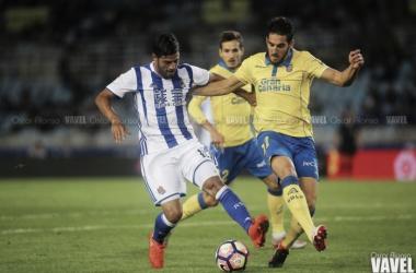 En vivo: Real Sociedad- UD Las Palmas (2-2)