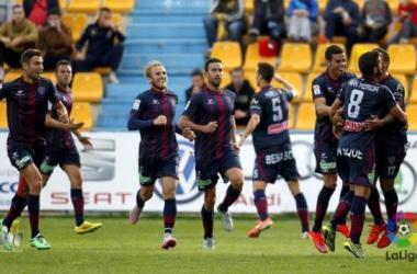 La SD Huesca da la sorpresa en Santo Domingo