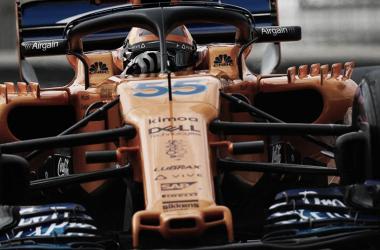 Carlos Sainz debuta con el McLaren | Fuente: @McLaren