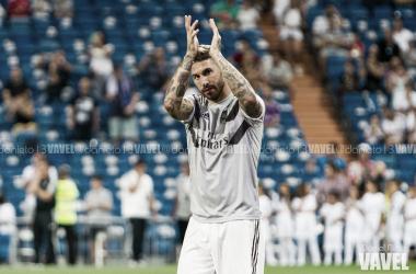 Sergio Ramos, titular indiscutible en el Real Madrid