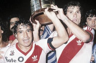 Ruggeri y Enrique campeones del mundial 86 y de la intercontinental 86