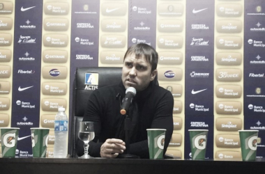 Coudet tras el partido ante Quilmes / Foto: sitio oficial