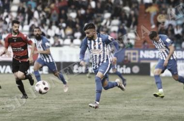 Dani Pichin se reencontraba con el gol por partida doble, artífice de la victoria. FOTO | Twitter @SDP_1922