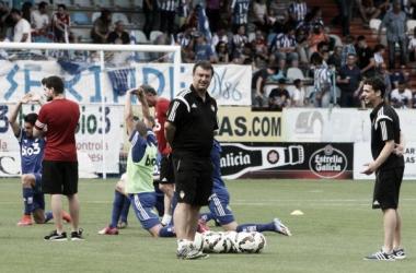 Manolo Díaz ya piensa en la temporada 2015/2016