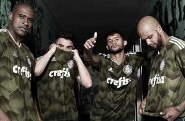 Às vésperas do confronto na Libertadores, Palmeiras divulga novo uniforme alternativo