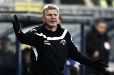 Paderborn part company with Effenberg, Müller takes the reins