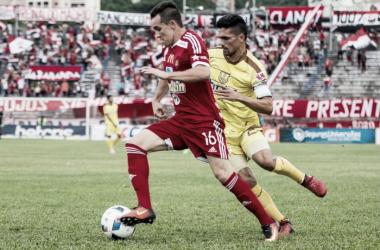 Se destapó la olla con la goleada contra el rojo | Foto: Caracas FC